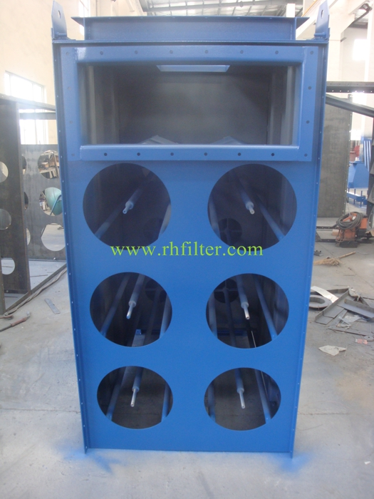 Horizental Loaded Dust collector